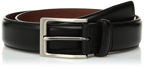 Perry Ellis Amigo - Cinturón de vestir para hombre, Amigo Cinturón de vestir, 34, Negro