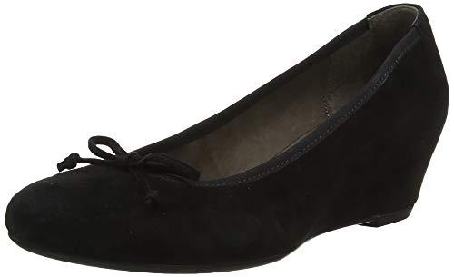 Gabor Shoes Damen Basic Pumps, Schwarz 17, 40 EU