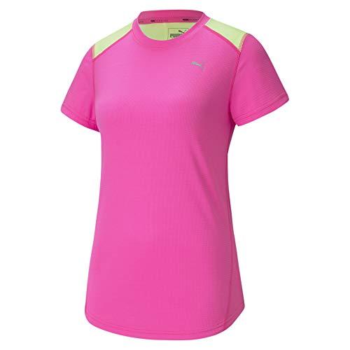 PUMA Ignite SS tee Camiseta, Mujer, Rosa, M