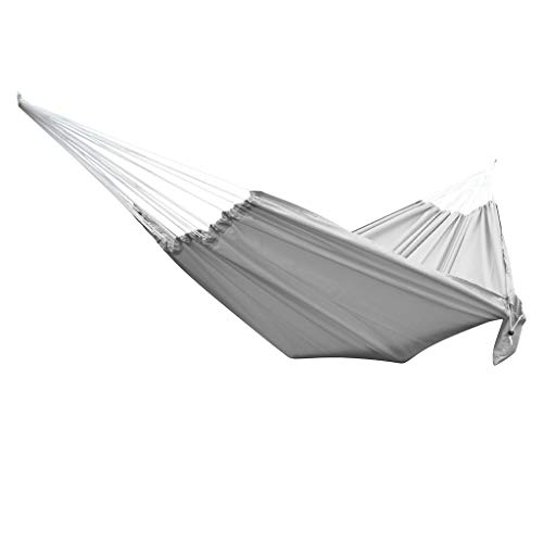 TLoowy-Clearance Hammocks for Trees, Hammocks for Outside Double & Single, Yard Hiking Hammock Swing Chair, Relaxation Chair Outdoor, Hammock Bed Swing, Camping Beds, Thickening Soft Cotton (Gray)