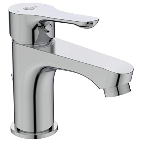Ideal Standard BC647AA Alpha Miscelatore lavabo, con piletta in metallo, cromato