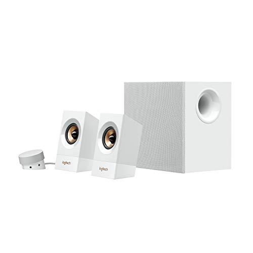 Logitech Multimedia Lautsprecher Z533, Weiß