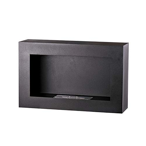 Ingle Free Standing bioethanol Fireplace with a 1.5L Double Layer 430 Stainless Steel Burner and a Control Tool
