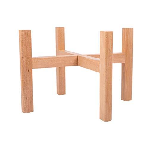 ZXL Sales Stand Bloemenstandaard Balkon Stand Bloemenstandaard gemaakt van hout Moderne Bloempot indoor tray 007