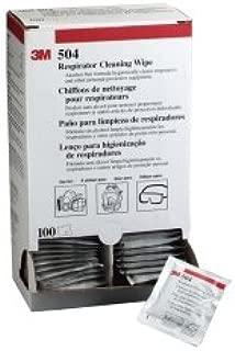 3M Respirator Cleaning Wipe 504, 100 per Box