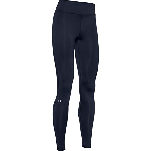 Under Armour Women's ColdGear Authentic Compression Leggings,  Midnight Navy - X-Small