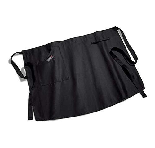 Weber 8301 Grillschürze kurz, schwarz, Baumwolle