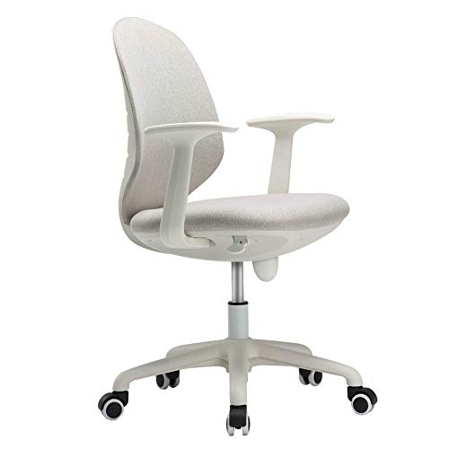 JF-XUAN Breathable mesh Executive Chair, Ergonomic Office Chair, Height-Adjustable, 360 ° Swivel Swivel Chair with 3D Thick Cushion, Suitable for Home/Office/Learning Home Office Furniture