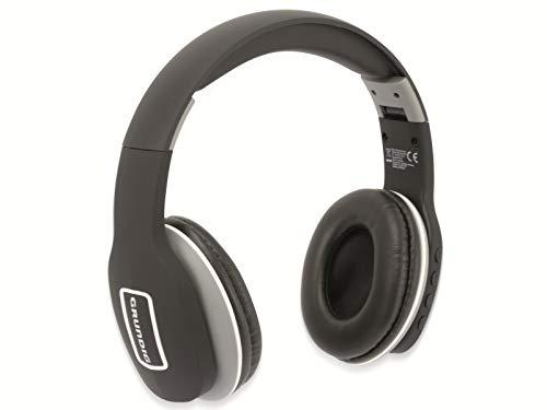 GRUNDIG Bluetooth Kopfhörer EE1178 Headphones kabellos Bügelkopfhörer (Schwarz)