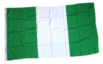 FahnenMax Drapeau Nigeria 90 x 150 cm