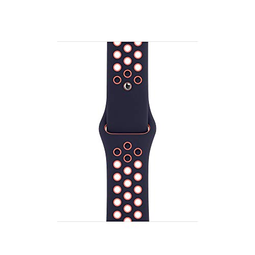 Apple Nike Sportarmband für Watch 40mm Blue Black/Bright Mango
