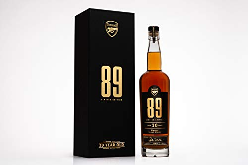 Photo of Bohemian Brands ARSENAL 89 – Anniversary Edition 30 Year Old Whisky, 700 ml, ARSNL-89WHIS-70
