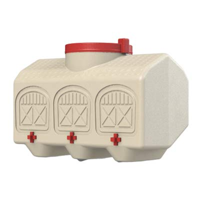OverEZ Chicken Waterer, 12 Gallon, No Spill, Outside/Inside Use, Automatic
