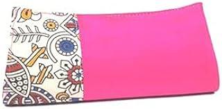 Generic Ty Handicrafts Handmade Silk with Kalamkari Clutch Purse Red
