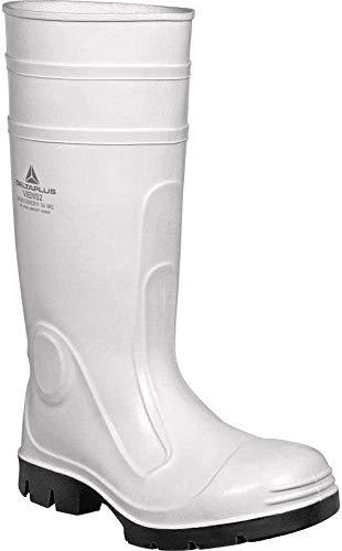 Delta plus botas - Bota seguridad viens pvc nitrilo blanco talla 38