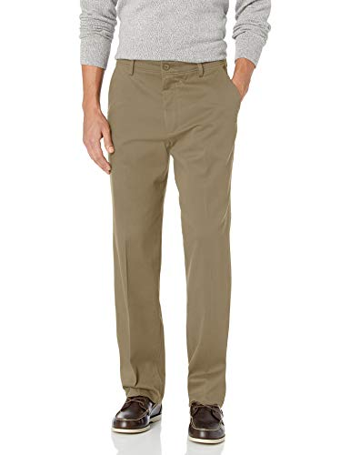 Dockers Men's Classic Fit Easy Khaki Pants D3, Timberwolf, 32 32