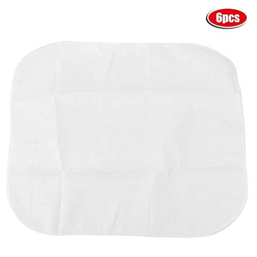 6 Stücke Küche Baumwolle Dampfer Tuch Gedämpfte Brötchen Knödel Dampfer Tuch Atmungsaktiv, Sicher und Hygienisch MEHRWEG VERPACKUNG