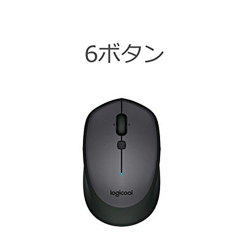 31fZXTc9e1L-「Logicool MX Master 2S」ワイヤレスレーザーマウスを購入したのでレビュー!