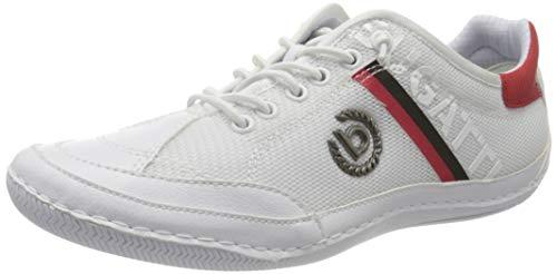 bugatti Herren 326480035000 Sneaker, Weiß, 43 EU