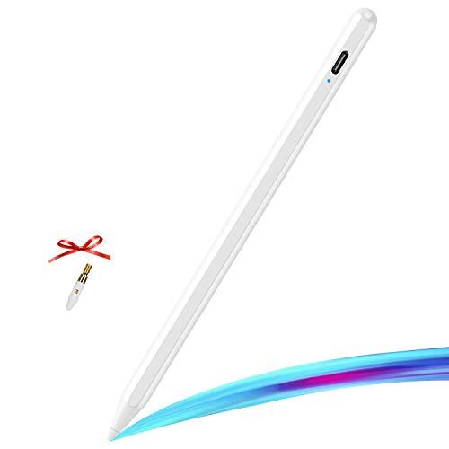 KKUYI Stylus Pen 2a generazione con Palm Rejection per iPad (2018-2020), 1,5 mm, penna attiva sostituibile, iPad Pencil compatibile con iPad 6th 7th iPad Pro 11 o 12.9   iPad Mini 5th iPad Air 3rd Gen