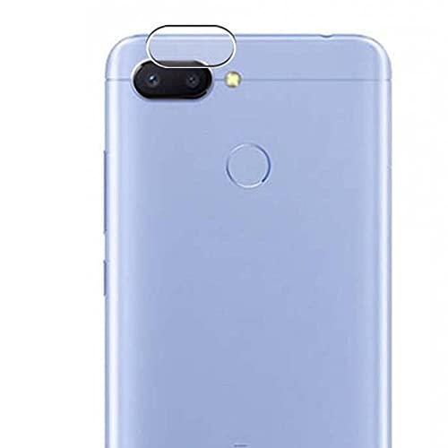 Vaxson 2 Stück Kamera Schutzfolie, kompatibel mit Xiaomi Redmi 6 / Xiaomi Hongmi 6A, Kameraobjektiv TPU Folie [nicht Panzerglas Displayschutzfolie/Hülle Case ]