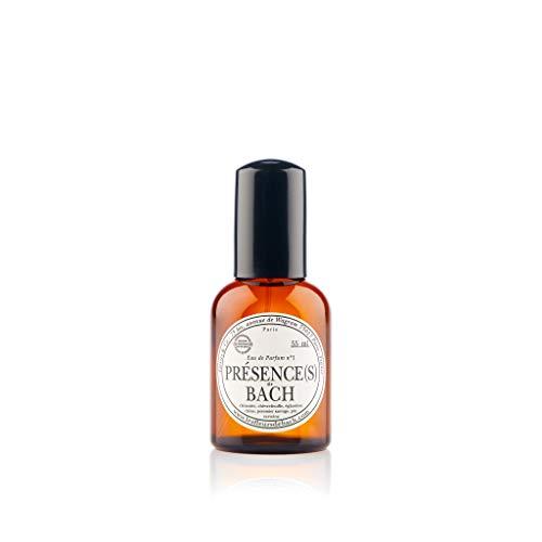 Elixirs & Co - Eau de Parfum aux Fleurs de Bach - Bio - Présence(s) - Bien-être - Parfum Frais et Fleuri - Verveine Pin et Pommier Sauvage - Made in France - 55ml