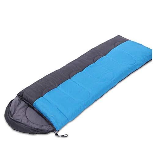 Calentar Bolso de dormir para acampar Bolso para dormir  Portátil liviano, impermeable, confort con saco de compresión, excelente para 4 temporadas Viajar, Camping, Senderismo, Actividades al aire li