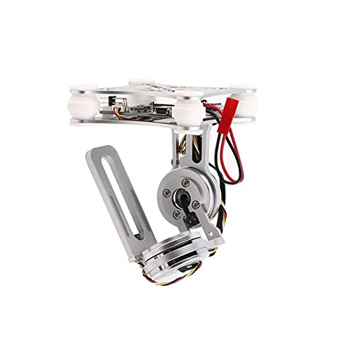 ASSE Brushless Gimbal Lightweight Photography Aerial Photography Plug And Play PTZ for D&Ji for Phantom 2 F550 F450 Goopro Fai da Te Drone Accessori droni (Color : Silver Gimbal)