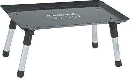 Anaconda Unisex– Erwachsene Bivvy Table I 39x24x18cm 7150000 Beistelltisch, Schwarz