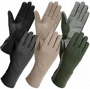Tactical Nomex Flight Houston Mall Gloves US Mil-Specs Pilot Summer gift Leather
