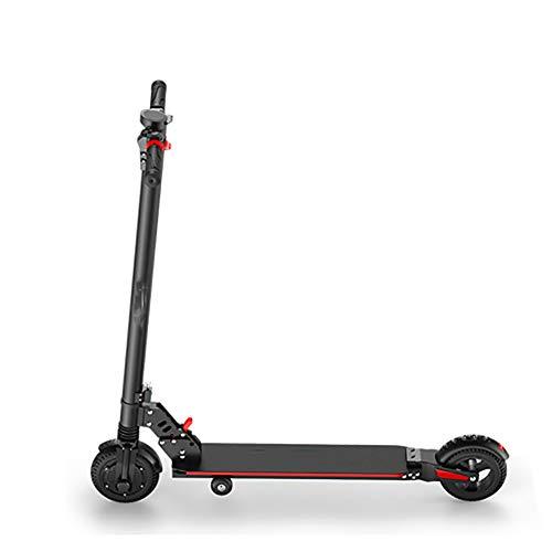 GAOTTINGSD Patinetes para Niños E-Scooter rápido hasta 18 km/h, a 20 km-25 km de Largo Alcance, de 6,5 Pulgadas Neumáticos, portátil y Plegable de E-Scooter for Adultos y Adolescentes
