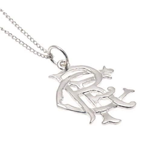 Rangers F.C. Sterling Silver Pendant & Chain