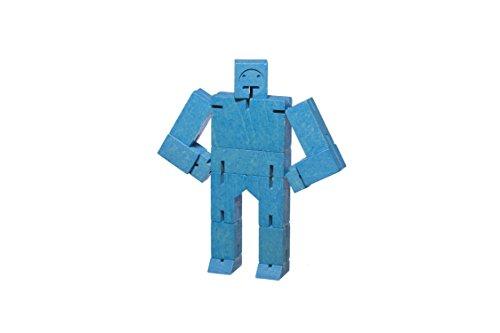 Pop Corn - Cube Robot Small - Bleu