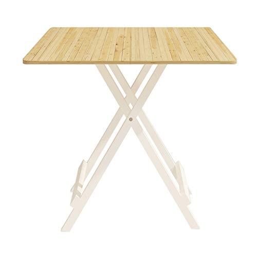 GXC klaptafel, draagbaar, verbeterde versie van de tafel van massief hout, multifunctioneel, houder van hoogwaardige aluminiumlegering, inklapbaar 60cm Een