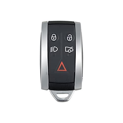 1pc coche 5 botones remoto inteligente tecla shell seguro y duradero no es fácil de envejecer para JAGUAR X TIPO S XKR XF XK Land Rover Accesorios de coche