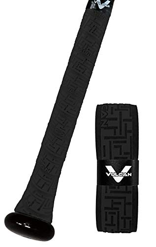 Vulcan 1.00mm Bat Grip, Black