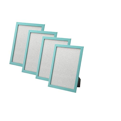 """Ikea Frame 4 X 6"""" Photo Picture Multicolor (4 Pack) (Light blue)"""