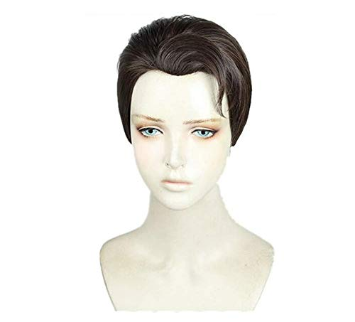 Ani·Lnc Detroit Become Human Connor Cosplay Wig Styled Halloween Role Play Hair