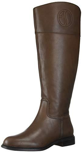 Franco Sarto Women's Hudson Knee High Boot, Brown Wide Calf, 8.5 M US