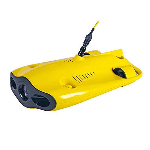 JFF Mini-Unterwasserdrohne, 4K-UHD-Unterwasserkamera Für Echtzeitbetrachtung, Fernbedienung Und APP-Fernbedienung, Tauchen Bis 150M