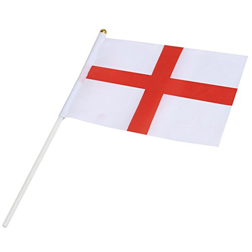 TRIXES Nylon Croix de St George Angleterre Main Waving Flag