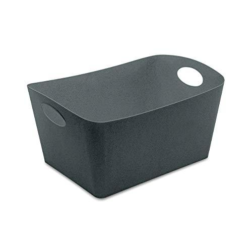 Koziol 5743673 Boxxx L Boîte de Rangement en Plastique thermoplastique Gris 15 l