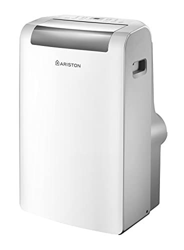 Ariston Mobis Plus 10.000 Btu, Climatizzatore Portatile, Classe A+
