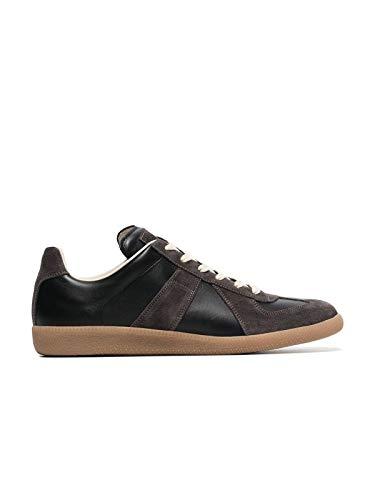Maison Margiela Luxury Fashion Uomo S57WS0236P1895900 Nero Pelle Sneakers | Ss21