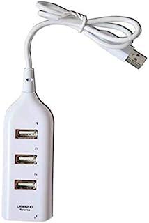 CamKpell Hub ad Alta velocità a 4 Porte - Hub ad Alta velocità a 4 Porte Espansione Splitter Multi-hub USB 2.0 a 4 Porte a...