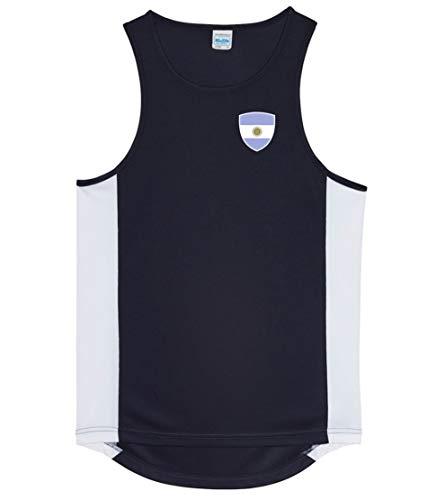 Nation Argentinien Trikot Tank Top Athletic Sport Gym ATH BR-SC (XL)