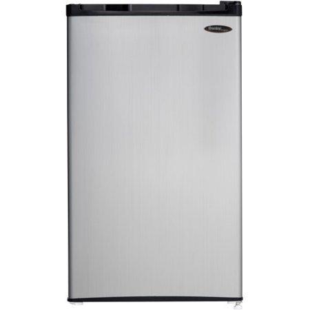 Danby Designer 3.2 cu ft Compact Refrigerator, Spotless /color: Silver/ Model:DCR032C1BSLDD by Supernon