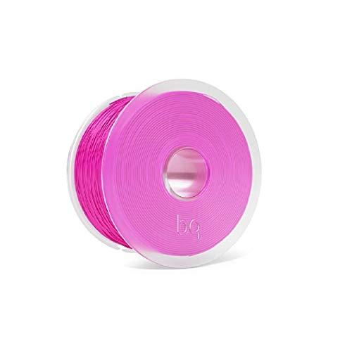BQ Easy Go - Filamento PLA de 1.75 mm (100% Pla, Resistente a la Acetona, Rápido Endurecimiento) Color Magenta