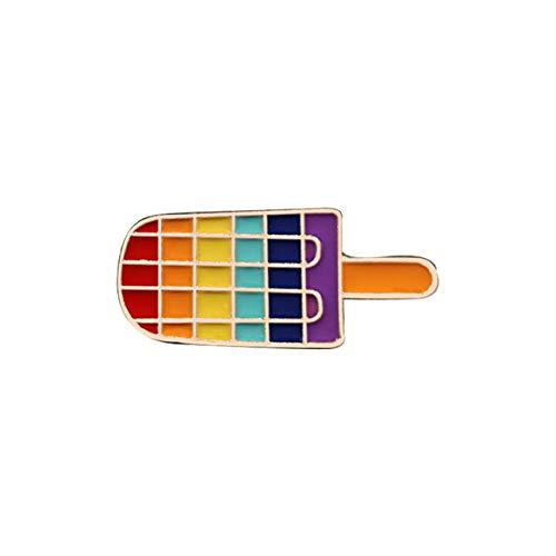 Pride Rainbow Flags Enamel Pins Cute Heart Gay Brooches Badge Denim Jackets Jewelry
