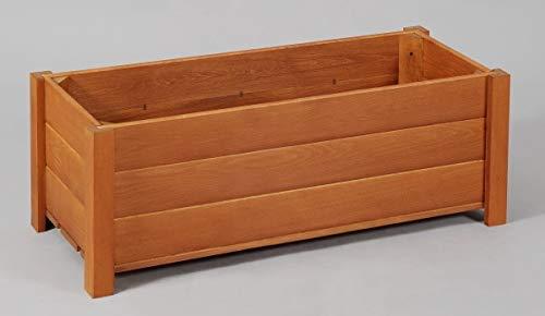 木製プランター匠・チーク色・横幅60cm(ヒバ材・無垢材・天然木)(プランターボックス)日本製